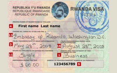 RWANDA INCREASES PRICE OF VISA TO $50